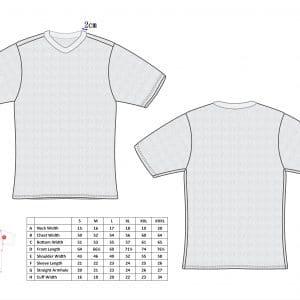 Cut-Tuff™ Cut Resistant Short Sleeve V-Neck T-Shirt Size Char